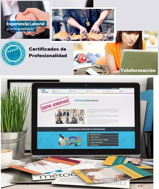 Sepe: Certificados de profesionalidad
