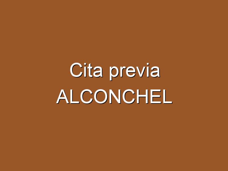 Cita previa ALCONCHEL