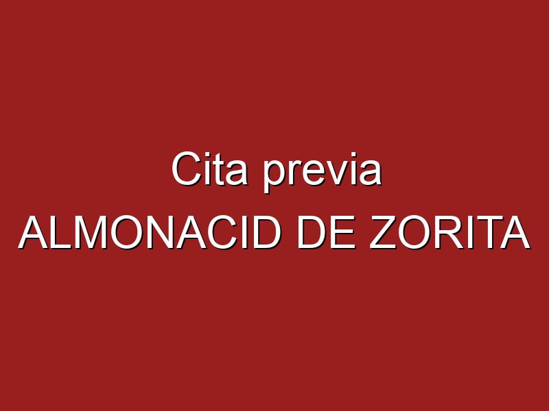 Cita previa ALMONACID DE ZORITA