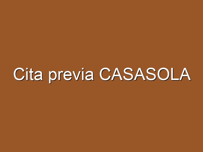 Cita previa CASASOLA