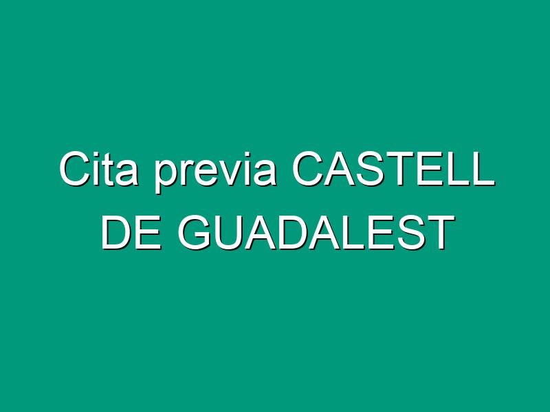 Cita previa CASTELL DE GUADALEST