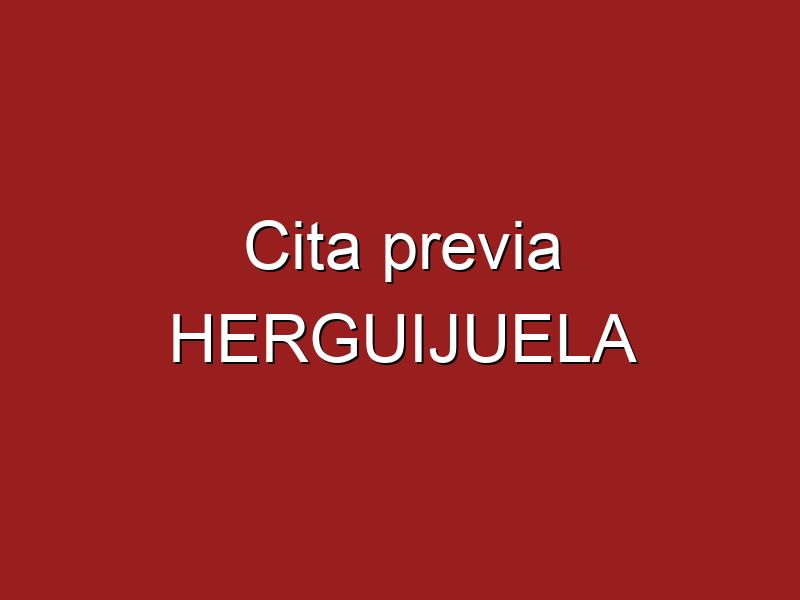 Cita previa HERGUIJUELA