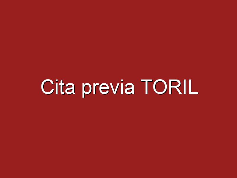 Cita previa TORIL