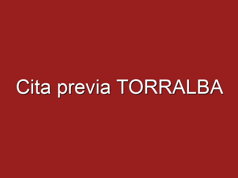 Cita previa TORRALBA