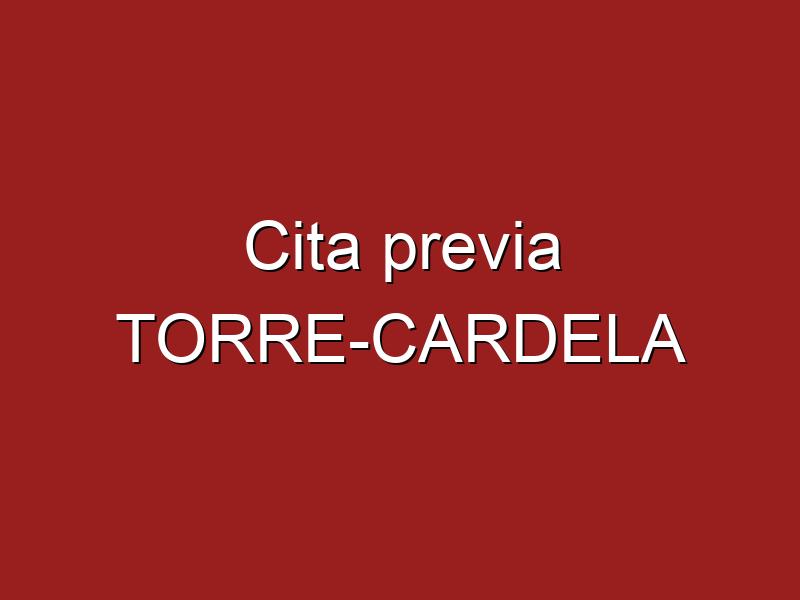 Cita previa TORRE-CARDELA