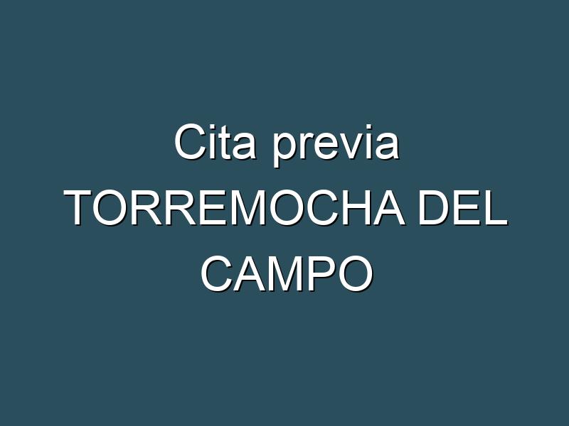 Cita previa TORREMOCHA DEL CAMPO