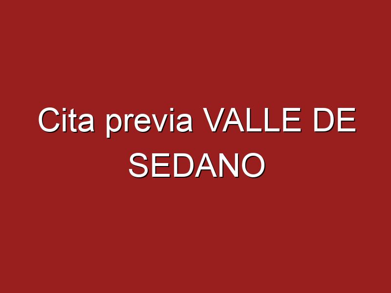 Cita previa VALLE DE SEDANO