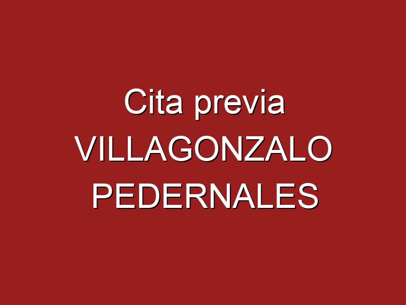 Cita previa VILLAGONZALO PEDERNALES