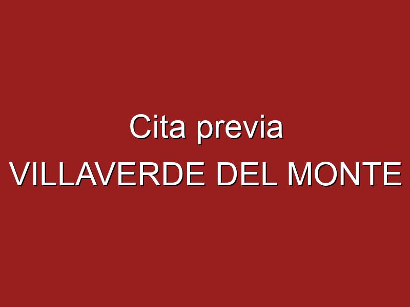 Cita previa VILLAVERDE DEL MONTE