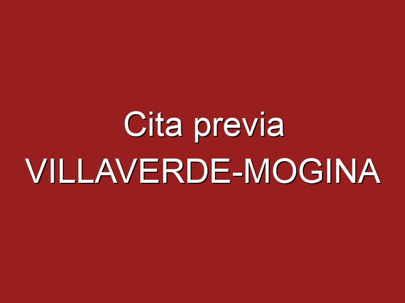 Cita previa VILLAVERDE-MOGINA